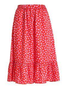 Marc Jacobs  - Hearts print skirt in red