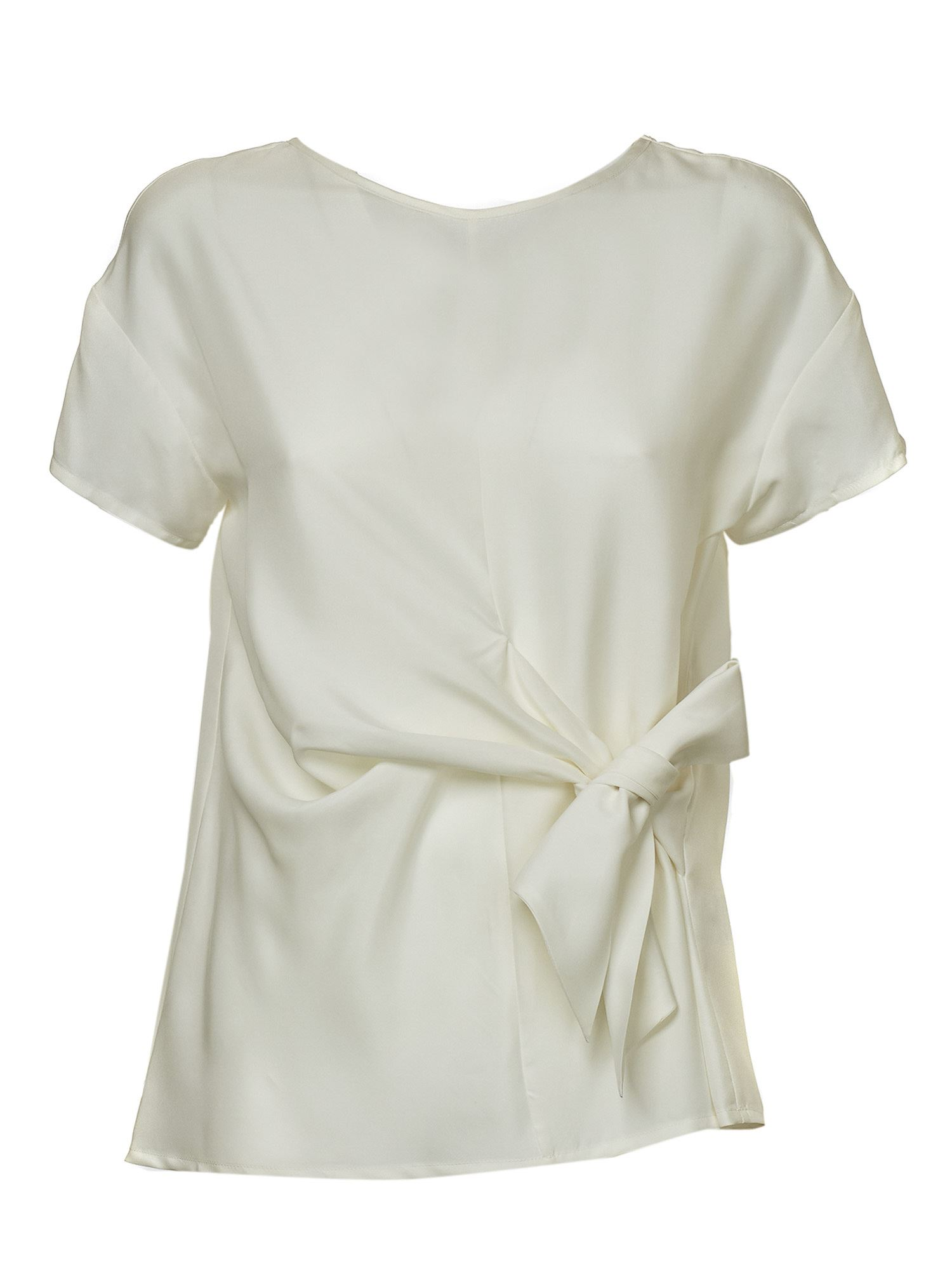 P.a.r.o.s.h. BOW TOP IN WHITE