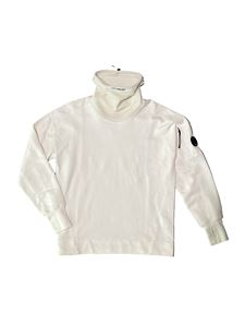 CP Company - High neck sweater in white