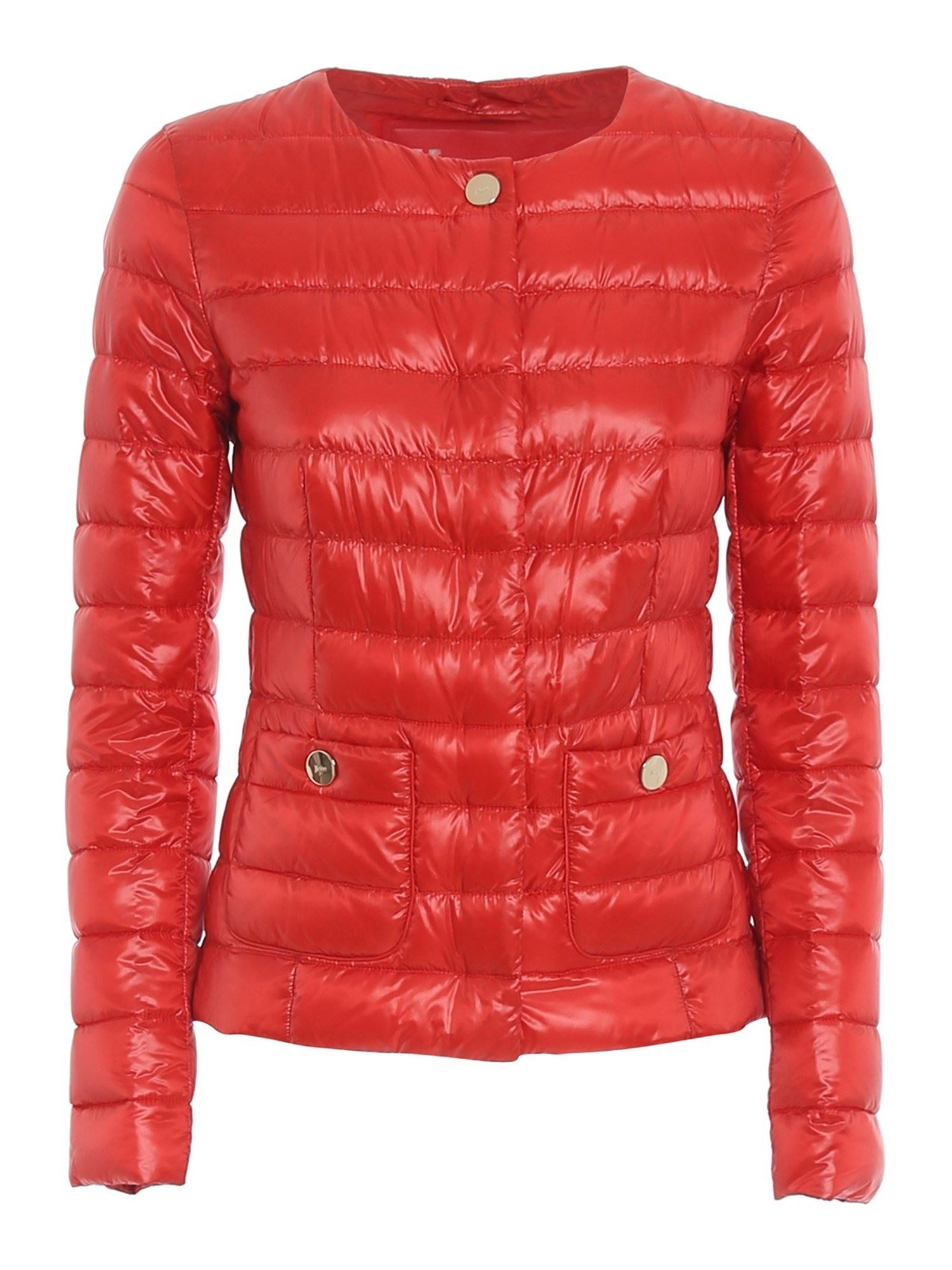 Herno Downs ULTRALIGHT PUFFER JACKET IN RED