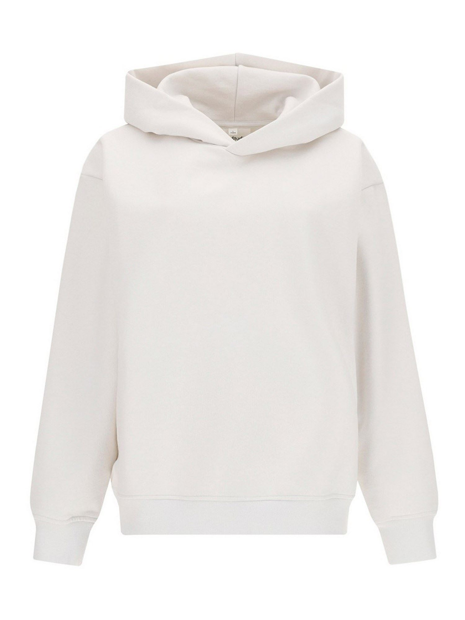 Acne Studios COTTON HOODIE IN WHITE