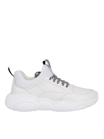 Moschino - Teddy sneakers in white