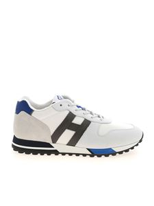 Hogan - H383 sneakers in white and blue