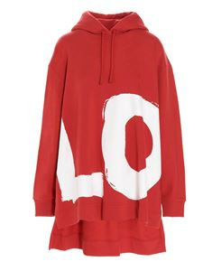 Burberry - Aurore Love hoodie in bright red