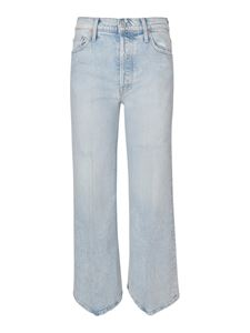 Mother - The Tomcat Roller jeans in light blue