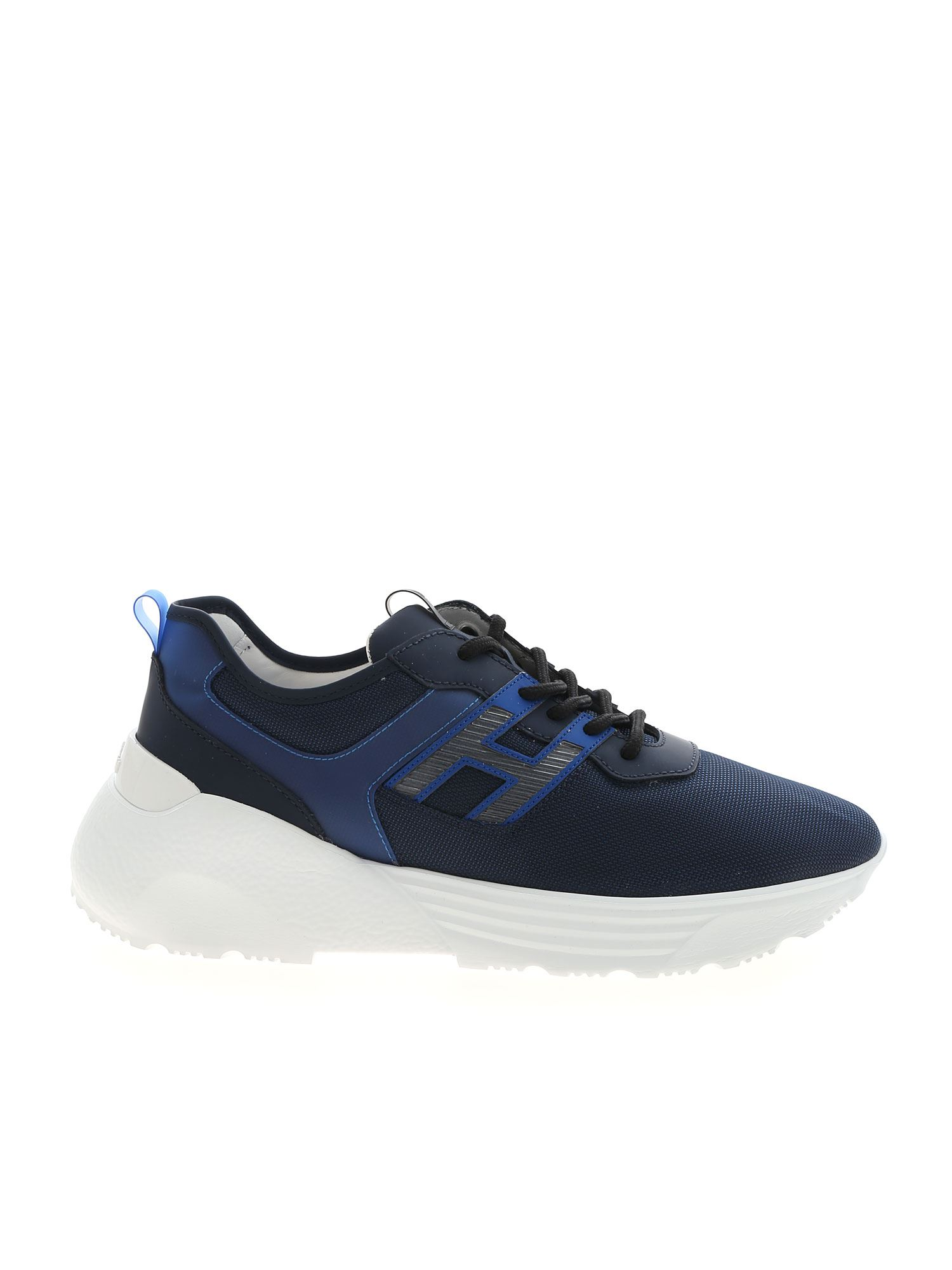Shop Hogan Active One Sneakers In Blue
