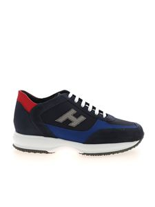 Hogan - Interactive sneakers in shades of blue
