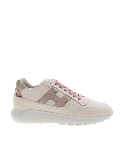Hogan Spring Summer 2021 interactive 3 sneakers in white ...