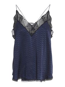 Zadig & Voltaire - Christy top in blue