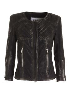 S.W.O.R.D. - Quilted detail jacket in black