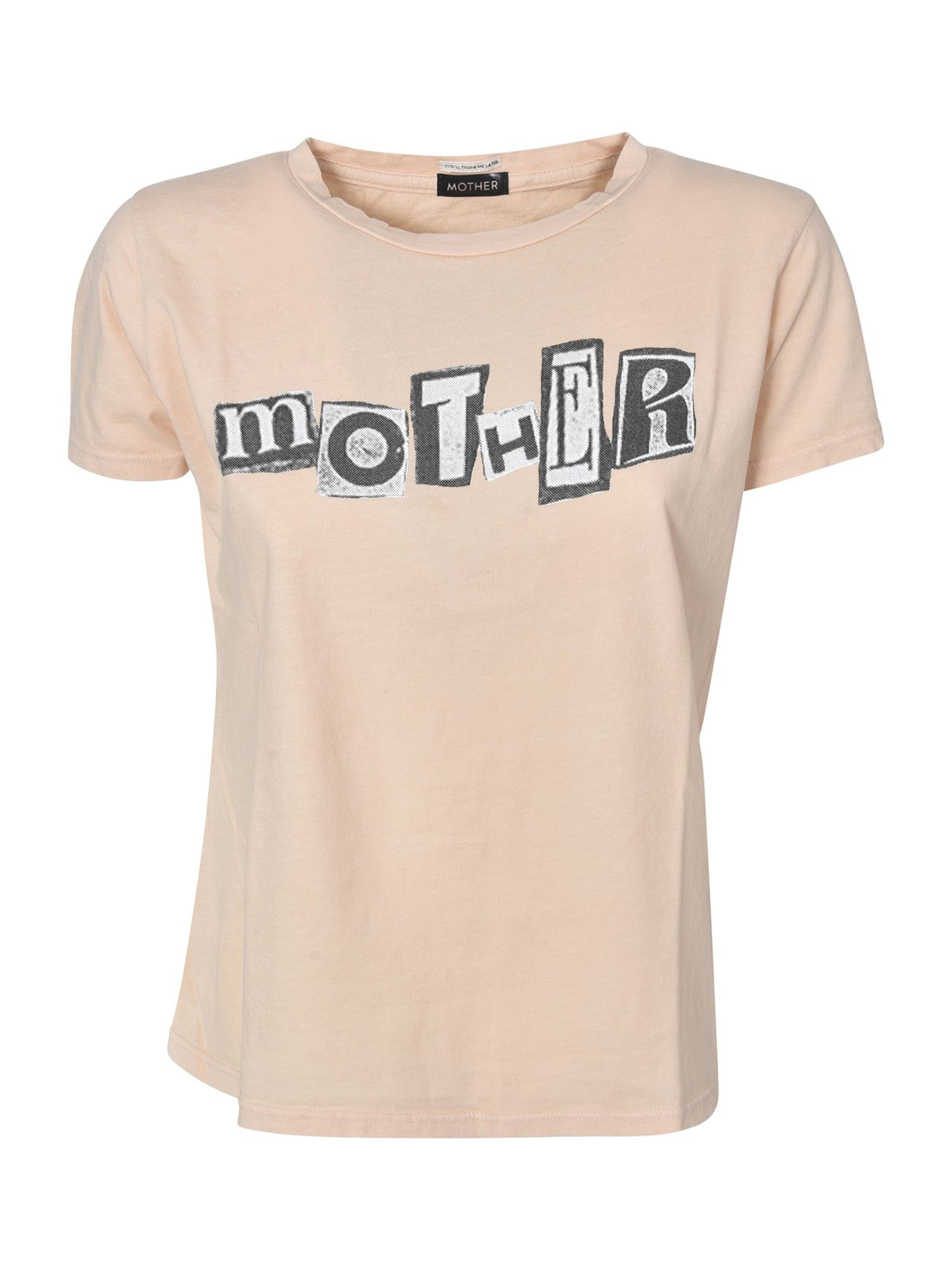 Mother Cottons ITTY BITTY GOODIE GOODIE T-SHIRT IN PINK