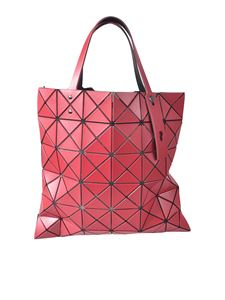 BAO BAO Issey Miyake - Lucent Matte-2 shopper bag in red
