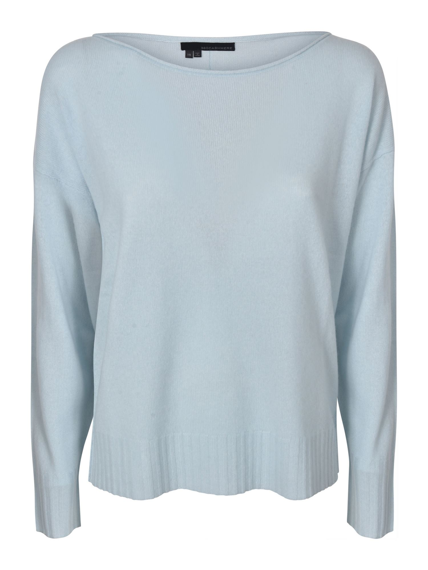 360cashmere SADIE SWEATER IN MINT COLOR