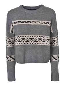 360 Cashmere - Haley sweater in Thunder color
