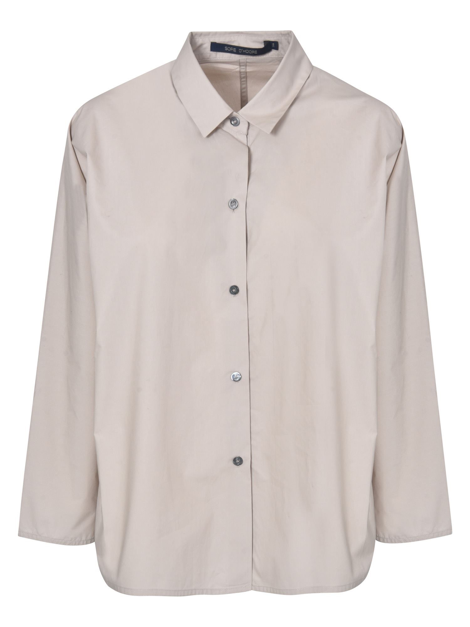 Sofie D'hoore WIDE SLEEVE SHIRT IN DESERT COLOR