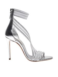 Casadei - Julia Venus Planet sandals in silver color