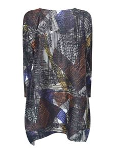 PLEATS PLEASE Issey Miyake - Andante pleated dress in multicolor