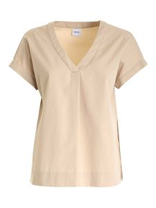 Aspesi - Relaxed fit blouse in beige