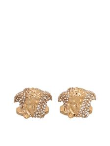 Versace - Medusa cufflinks in gold color