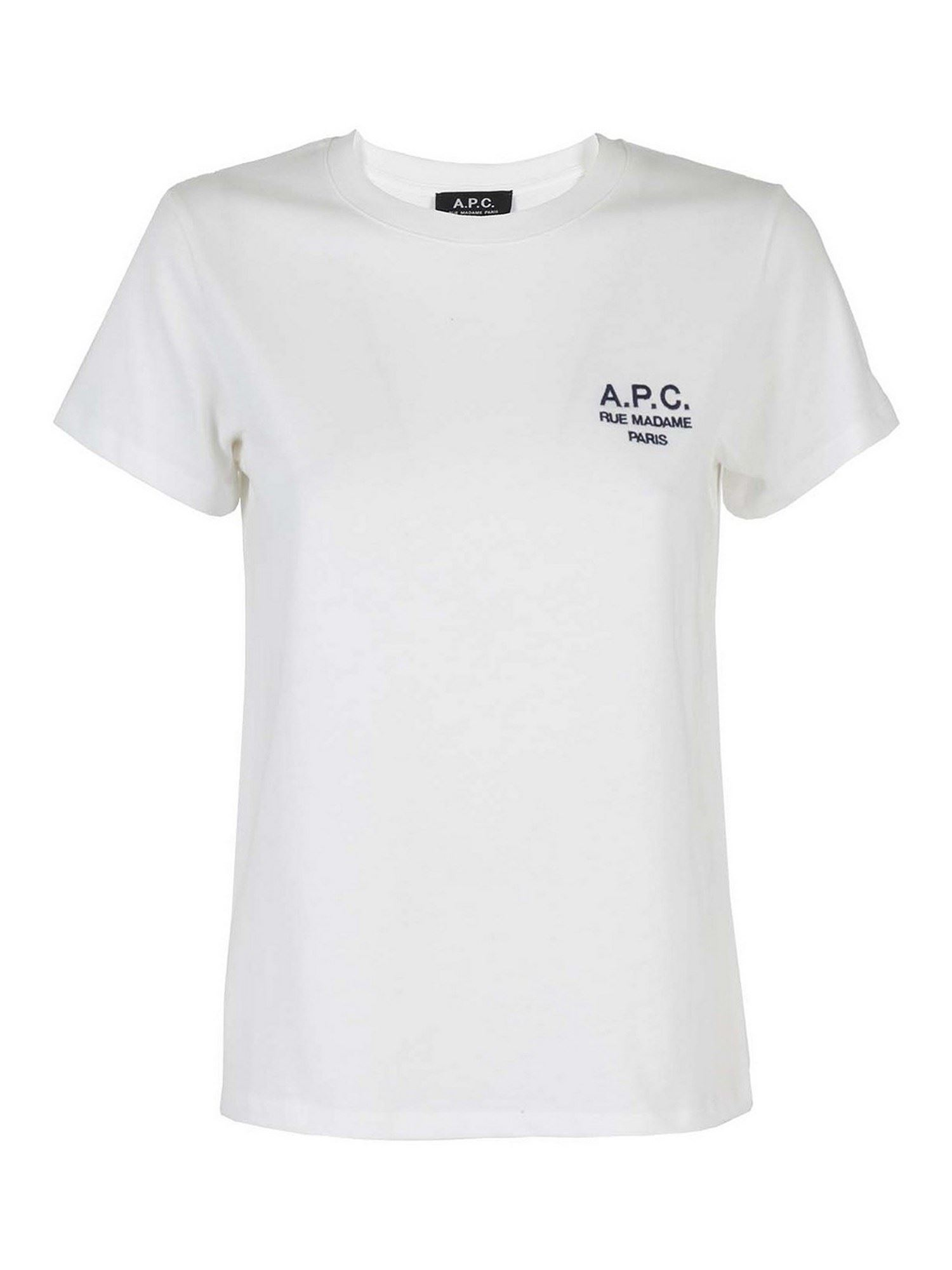 A.P.C. DENISE T-SHIRT IN WHITE