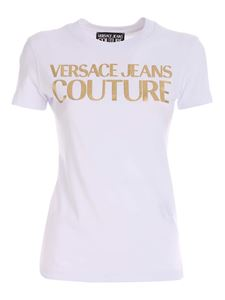 Versace Jeans Couture - Printed T-shirt in white