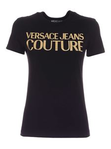 Versace Jeans Couture - Printed T-shirt in black