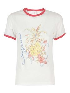 See by Chloé - Fruits printed T-shirt in white
