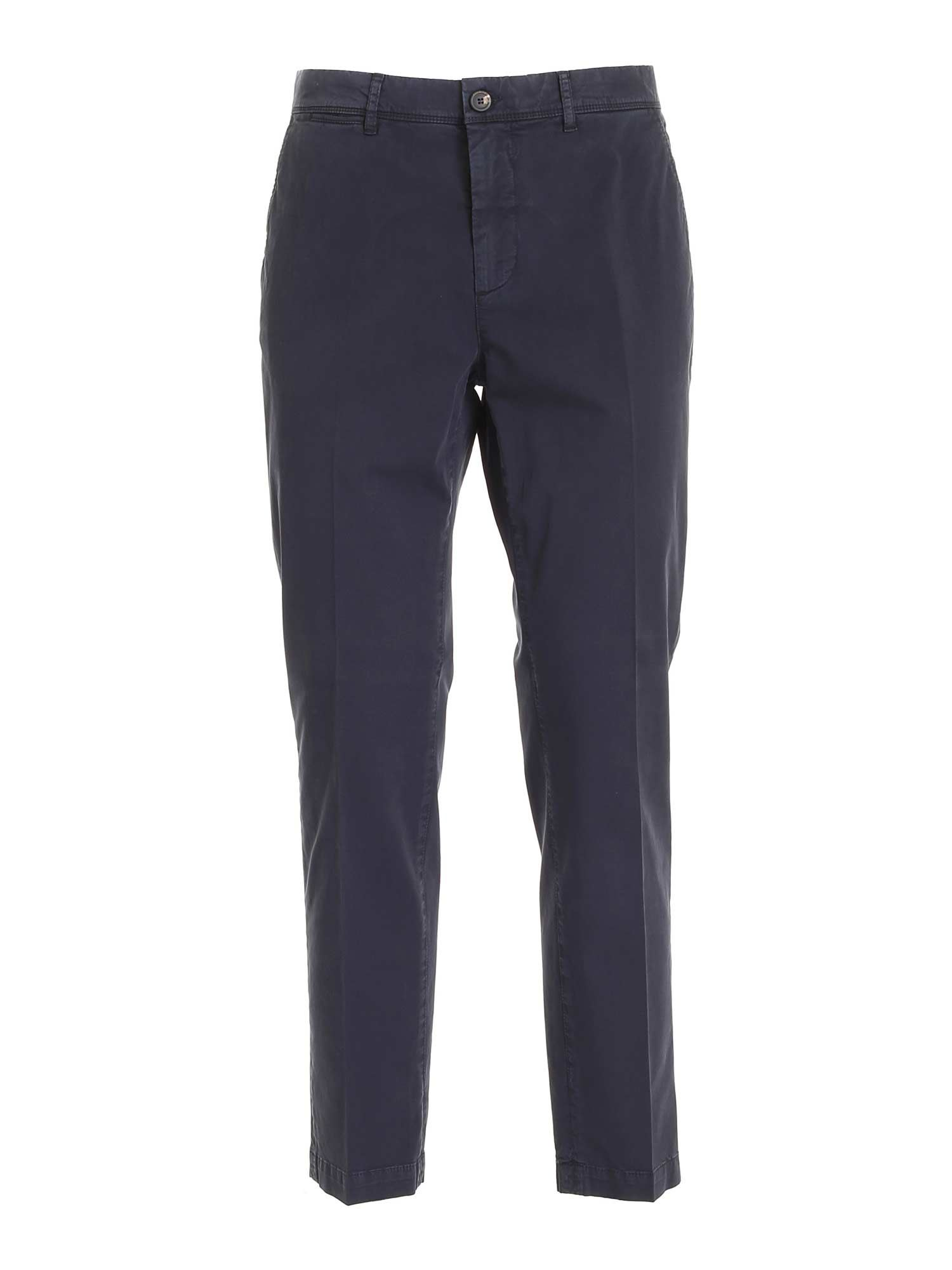 Peserico CHINO PANTS IN BLUE
