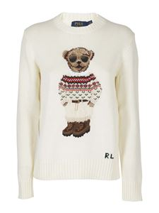 POLO Ralph Lauren - Polo Bear crewneck in white