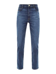 J Brand - High rise jeans in blue