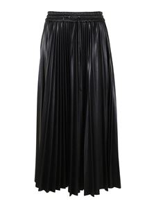 MSGM - Pleated skirt in black