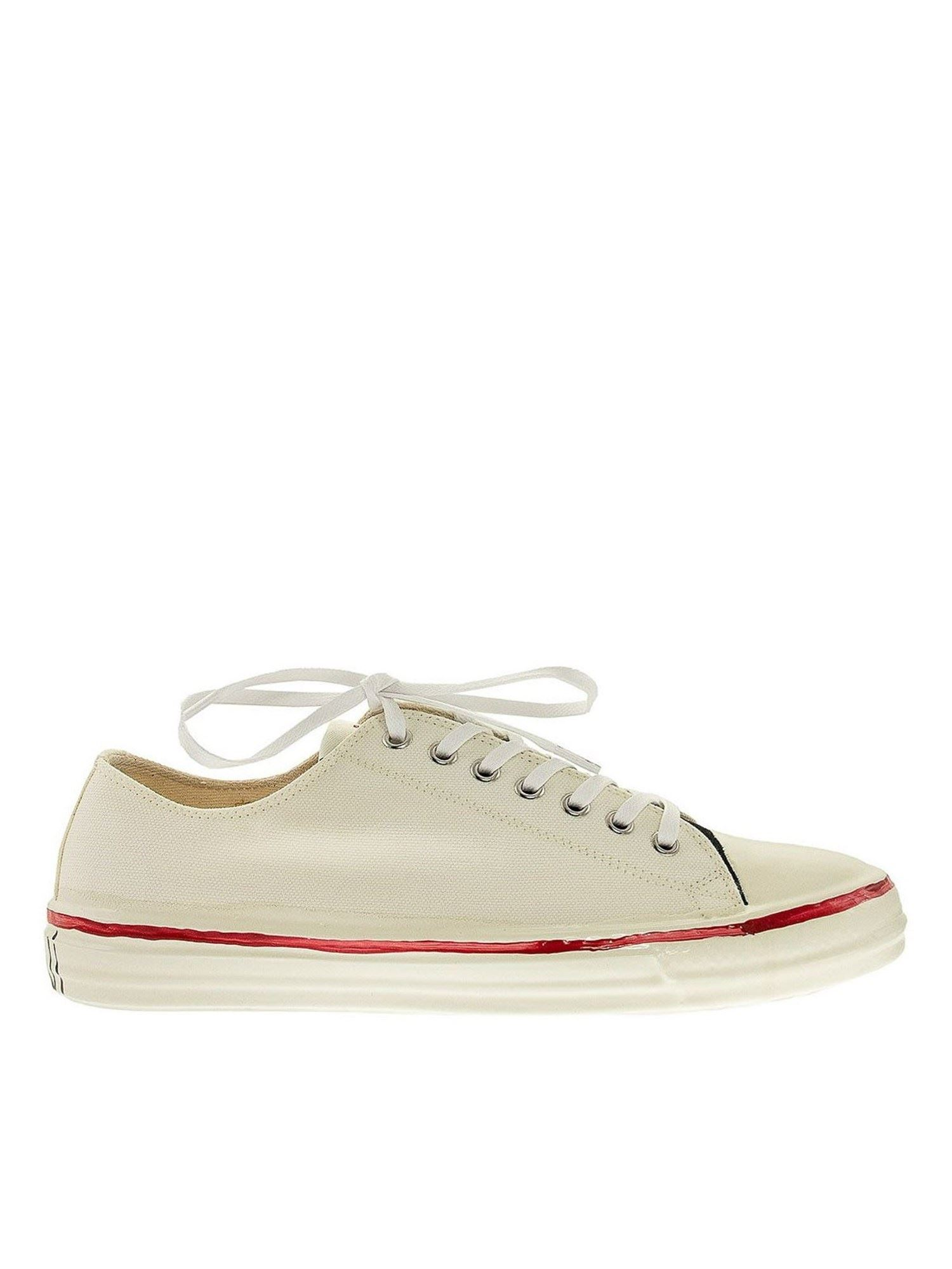 Marni LOGO SNEAKERS IN WHITE