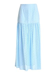 Federica Tosi - Lace skirt in light blue