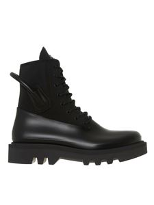 Givenchy - Combat boots in black