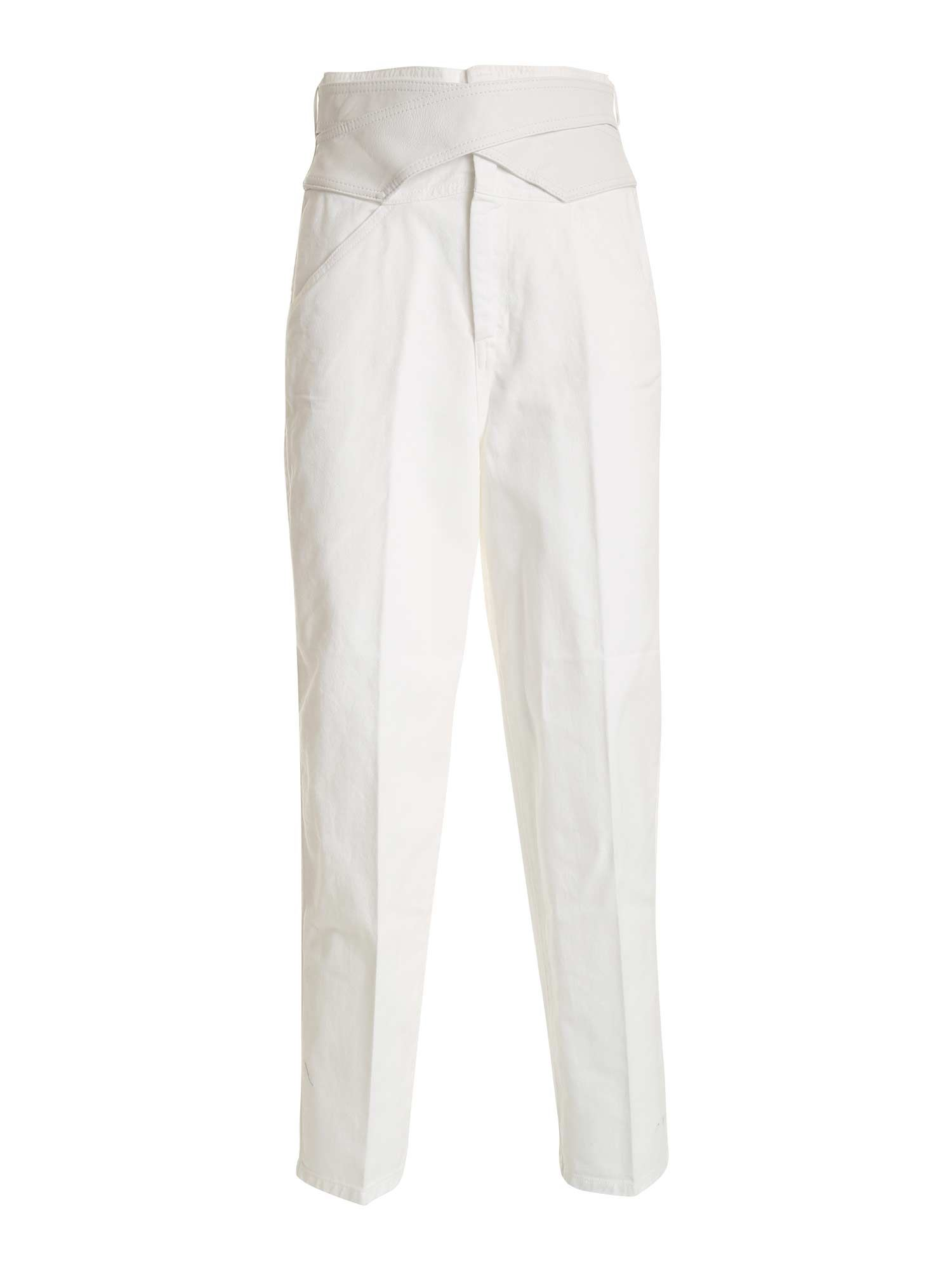 Pinko PINKO SHELBY 2 SLIM JEANS IN WHITE