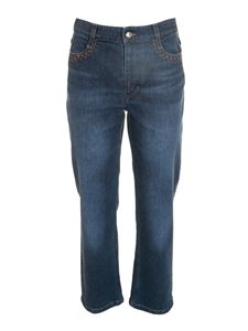 Chloé - Cropped jeans in blue