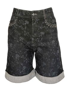 Chloé - East-West embroidered shorts in gray