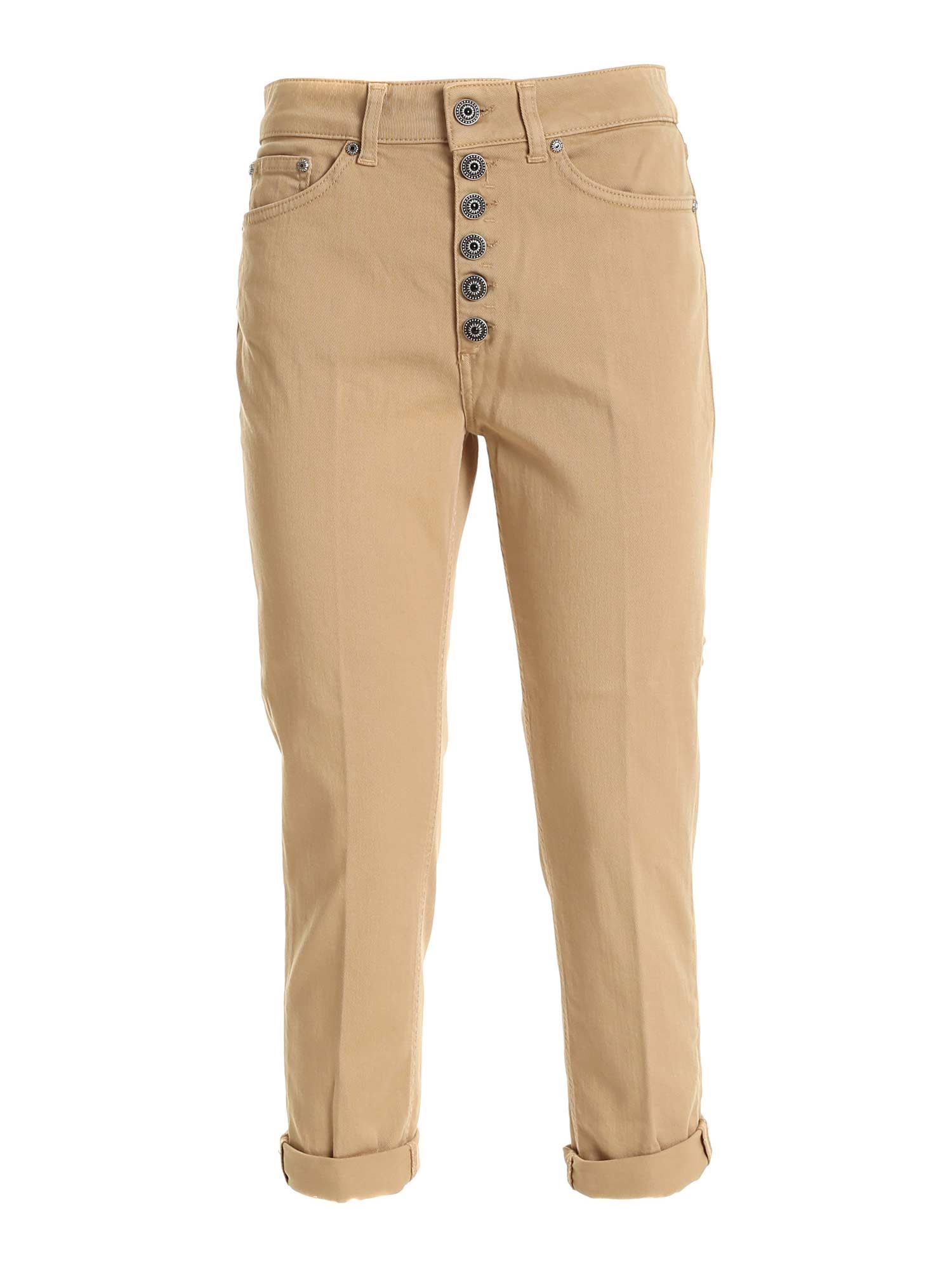 Dondup KOONS PANTS IN BEIGE