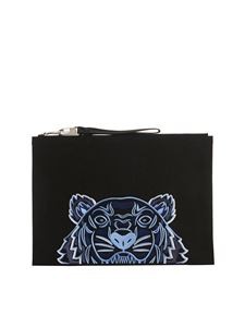Kenzo - Kampus Tiger pouch in black