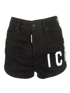 Dsquared2 - Shorts jeans Icon neri
