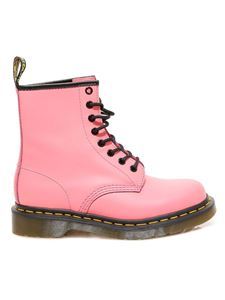 Dr. Martens - 1460 smooth leather ankle boots in pink