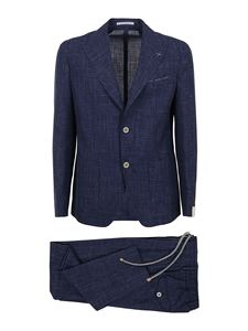 Eleventy - Virgin wool blend suit in blue
