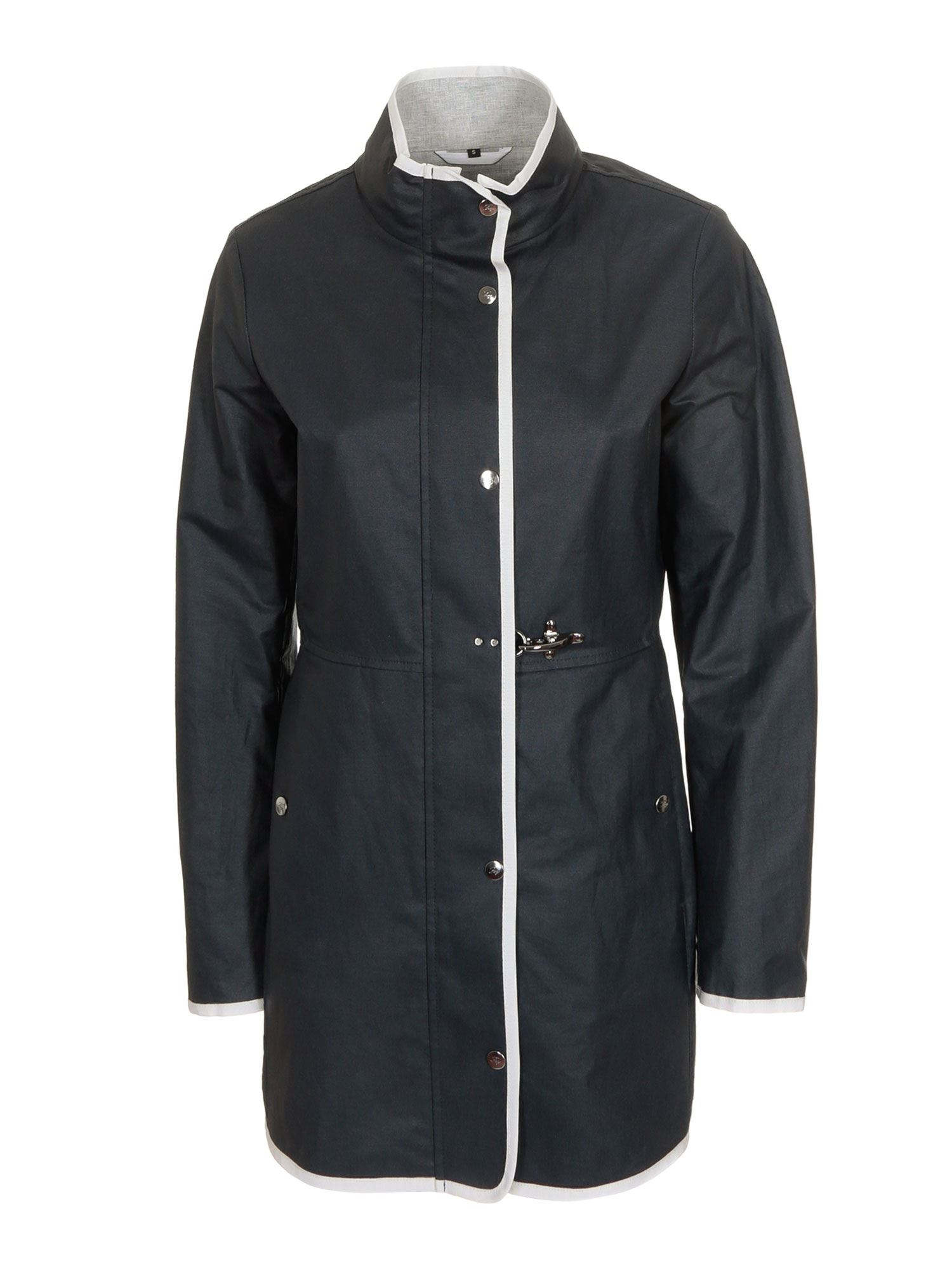 Fay VIRGINIA EASY JACKET IN BLUE