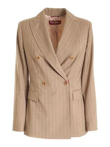 Max Mara Studio - Campale double-breasted jacket in beige