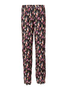MSGM - Floral print pleated trousers in multicolor