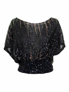 MY TWIN Twinset - Sequined multicolor blouse