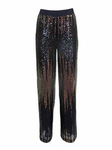 MY TWIN Twinset - Sequined multicolor pants