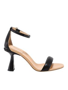 Givenchy - Leather sandals in black
