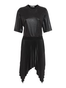 Givenchy - Abito nero con gonna plissettata