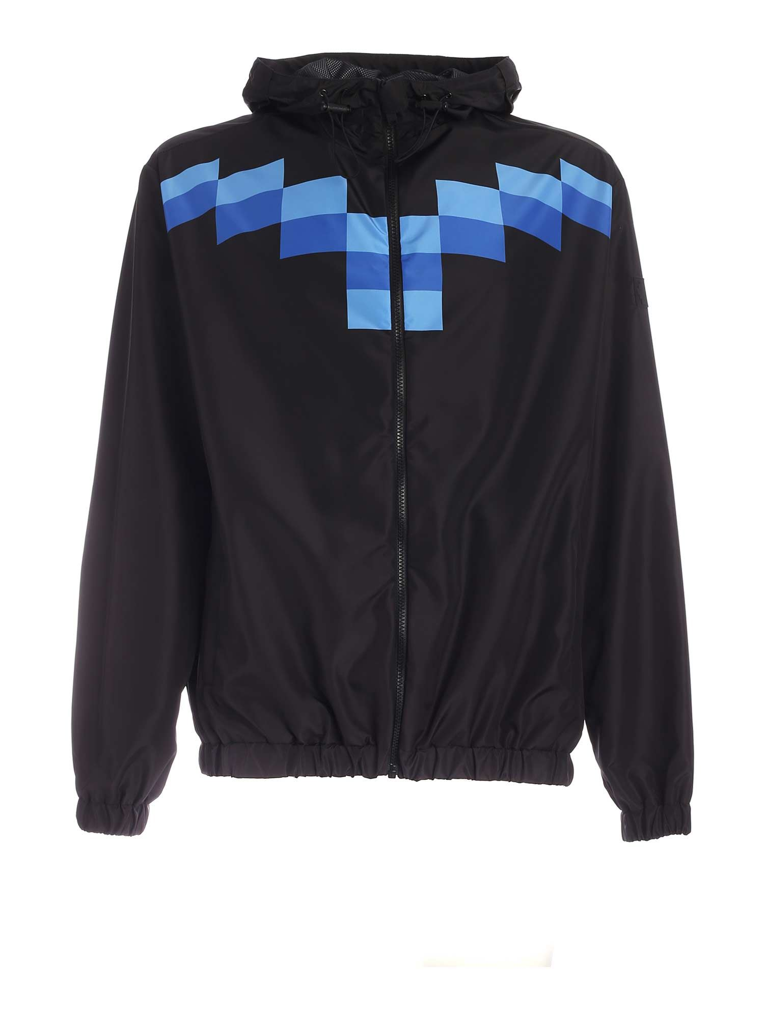 Marcelo Burlon County Of Milan TEAM WINGS JACKET IN BLUE